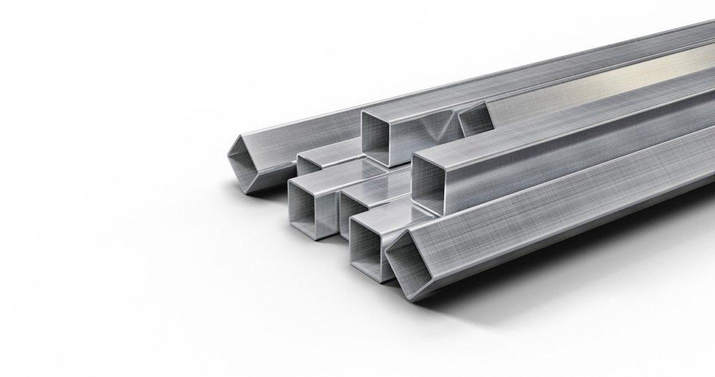 צינורות אלומיניום מרובעים