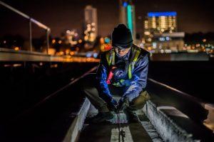 עבודת שטח בלילה