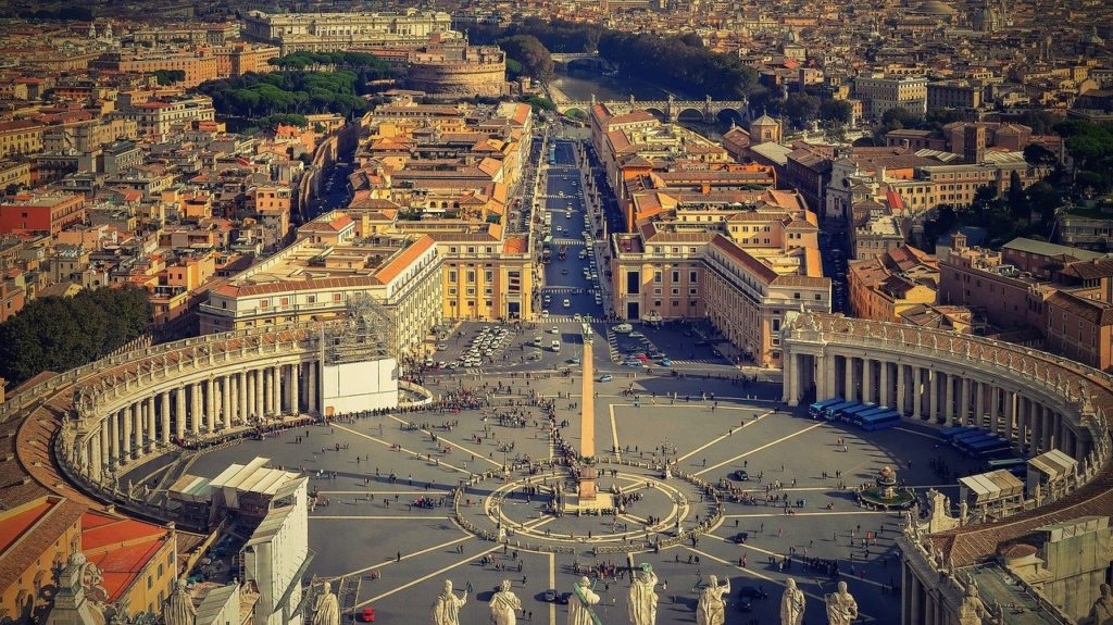 רחובות רומא המרהיבה